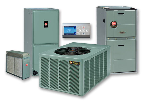 Rheem Heating and Cooling Products